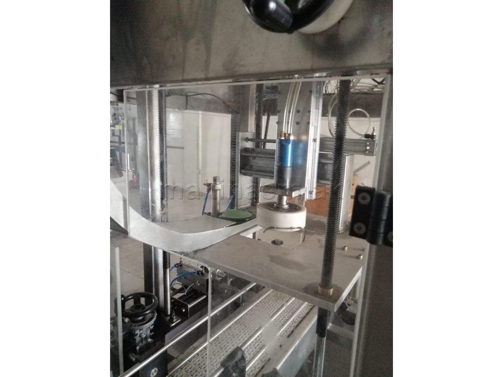 Otomatik Kapak Kapatma Makinası ( Pet kapatma makinası 5lt 3lt 1lt)