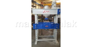 150 Ton Hidrolik Alttan İtmeli Atölye Presi - Hydraulic Workshop Pushing Press Bottom